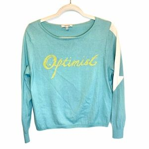 Lisa Todd Optimist Crew Neck Sweater